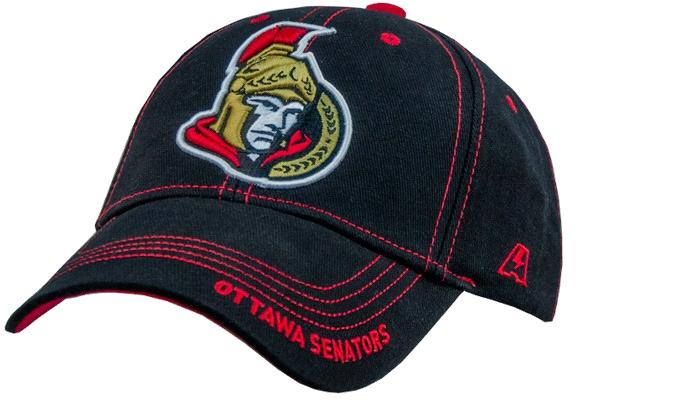 "Бейсболка ""NHL Ottawa Senators"" черная"