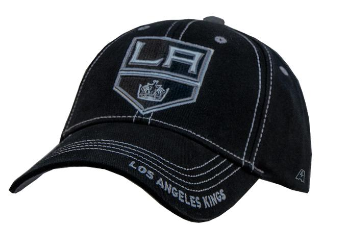 "Бейсболка ""NHL Los Angeles Kings"" черная"